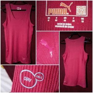 Puma Women's Tank Top/Muscle Teeshirt